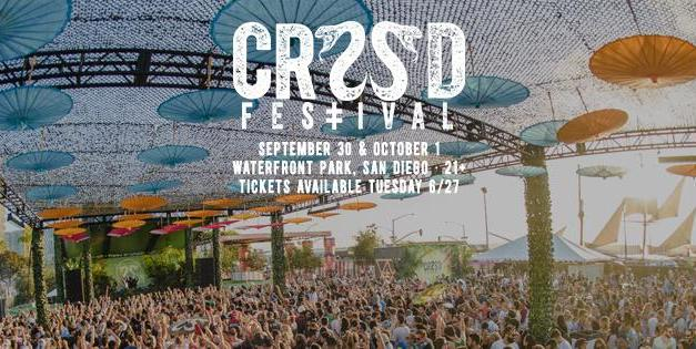 CRSSD Festival Fall 2017 || Lineup Released