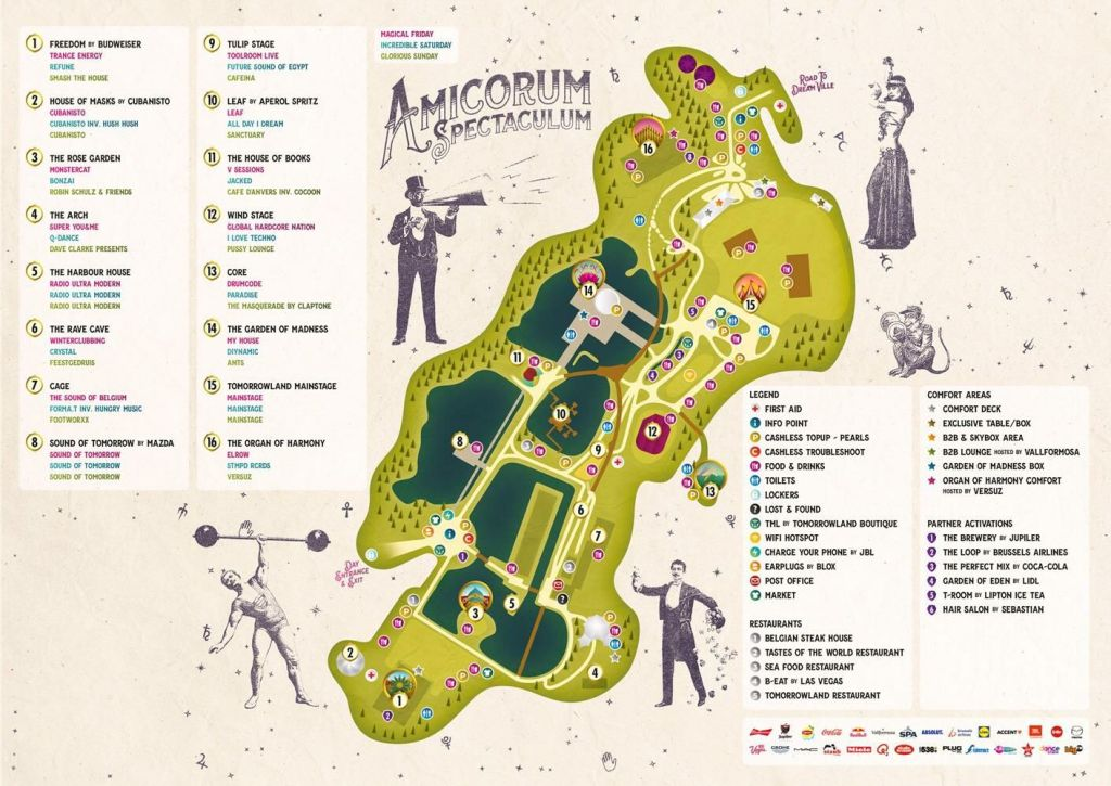 Tomorrowland Map 2017