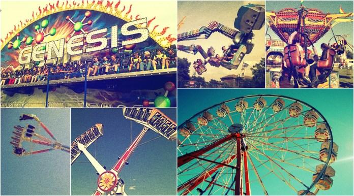 global dance festival carnival rides