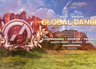 Global Dance Festival Arizona 2017 - Phase 1 Lineup Banner