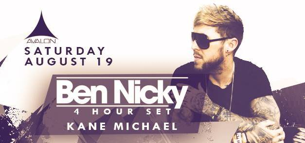 Ben Nicky & Kane Michael @ Avalon Hollywood || Preview & Giveaway