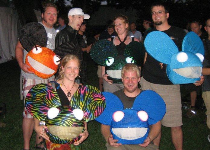 Tim & Erin with deadmau5