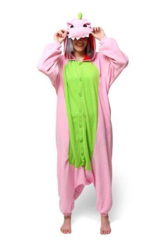 Pink Dinosaur Kigurumicom