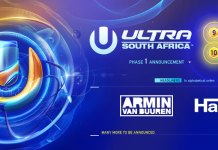 Ultra South Africa 2018 Banner