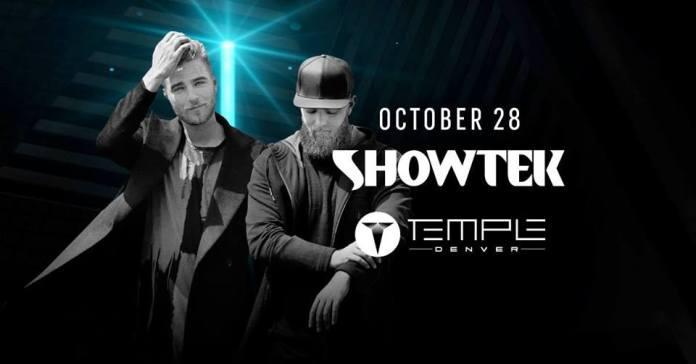 Halloween Showtek Temple Denver