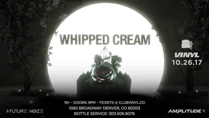 Halloween Whipped Cream Vinyl Denver