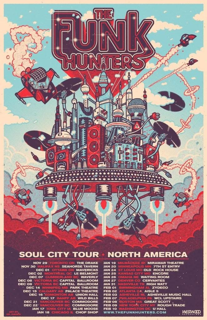 The Funk Hunters Soul City Tour 2017