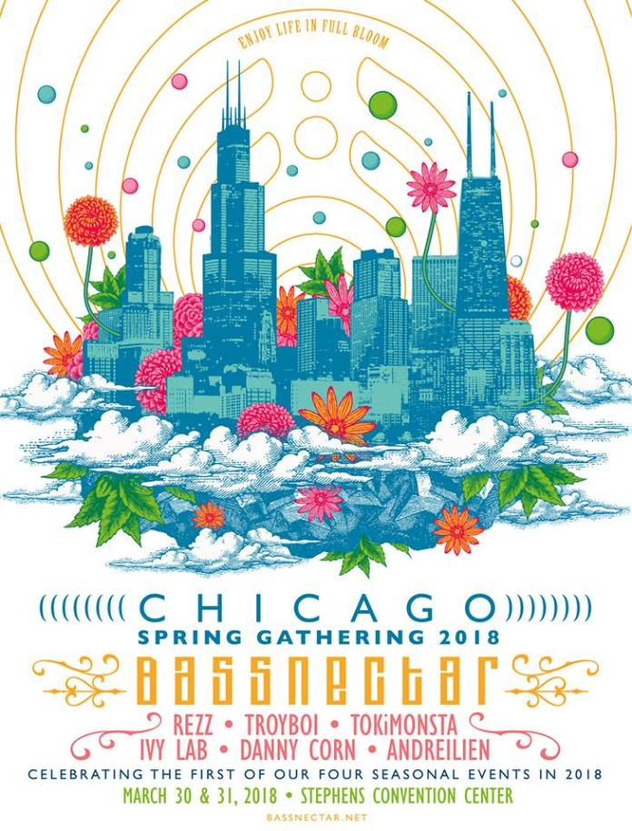Bassnectar Chicago Spring Gathering 2018