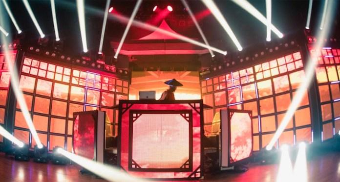 Datsik Shogun Stage
