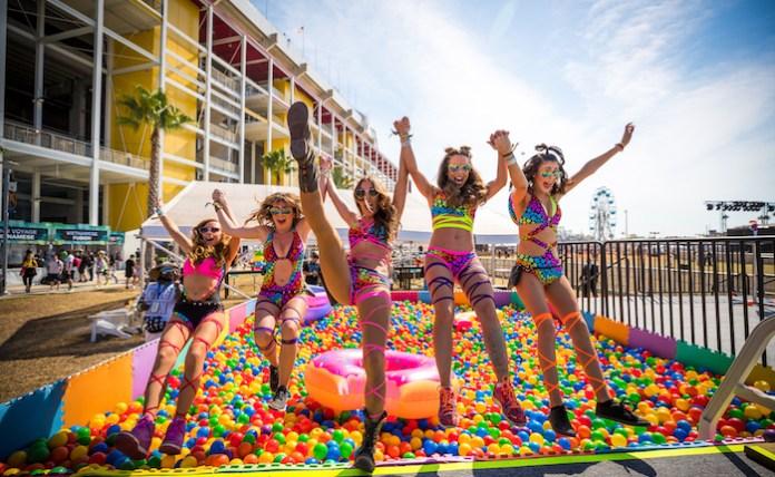 EDC Orlando 2017 Ball Pit