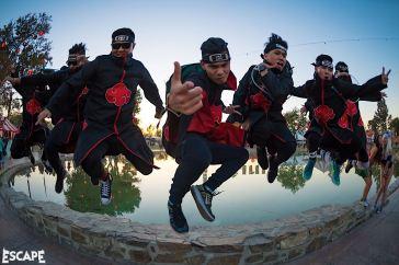 Escape Psycho Circus 2017 Ninja Squad