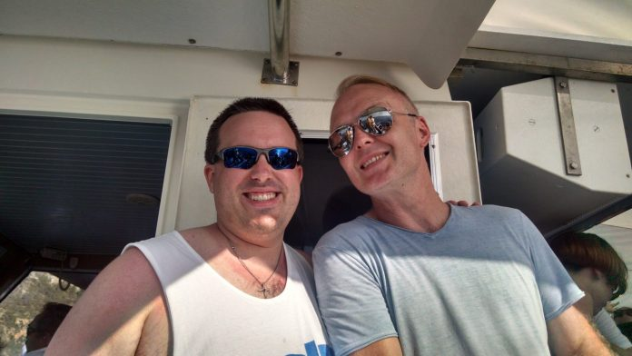 MyStro & Solarstone on a ConnectIbiza boat party in Ibiza, Spain