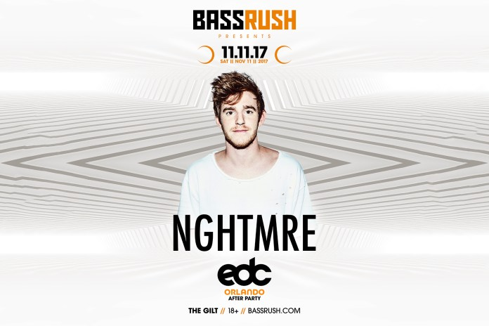 nghtmre edc orlando 2017 after party