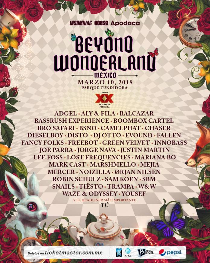 Beyond Wonderland Mexico 2018 Lineup