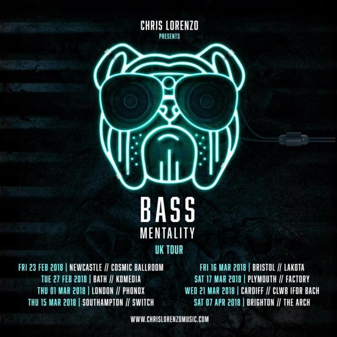 Chris Lorenzo Bass Mentality UK Tour