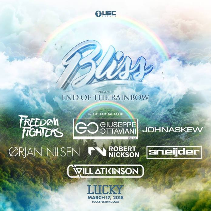 Lucky Festival 2018 Bliss Presents End of the Rainbow Stage featuring Digital Ascension