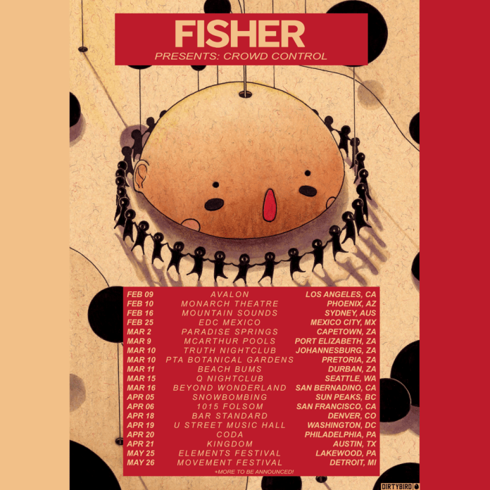 FISHER Crowd Control Tour 2018
