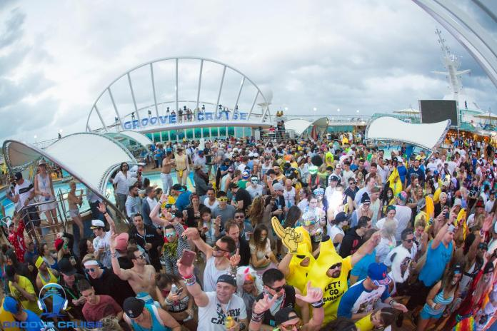 Groove Cruise Miami 2018 Pool Deck