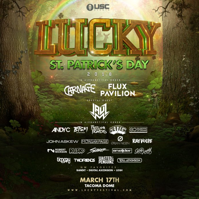 Lucky 2018 Lineup USC Events