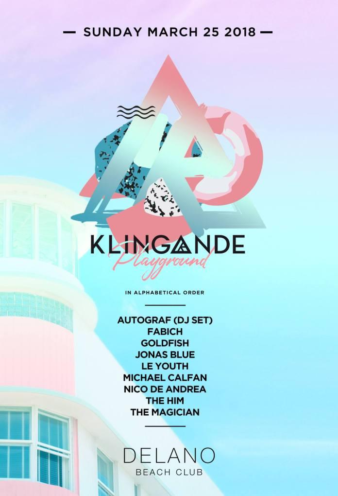 Klingande Playground Miami Music Week 2018