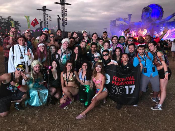 Festival Passport Group at EDC Orlando