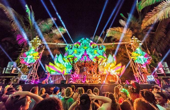 Envision Festival Luna Stage