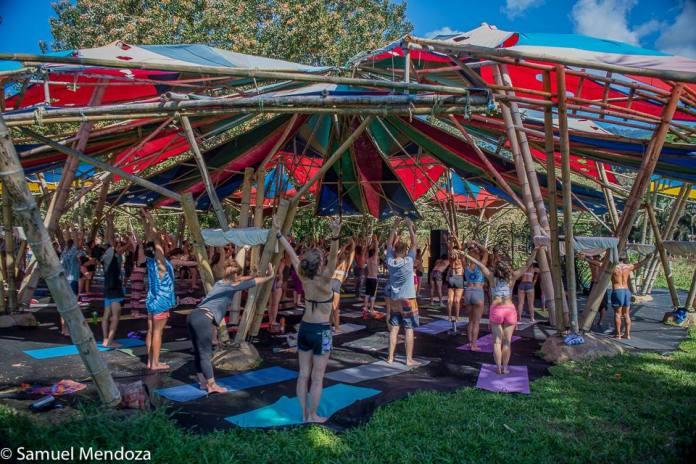 Envision Festival 2018 Yoga