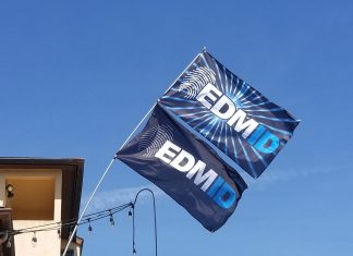 EDMID Flags From Fest Flags