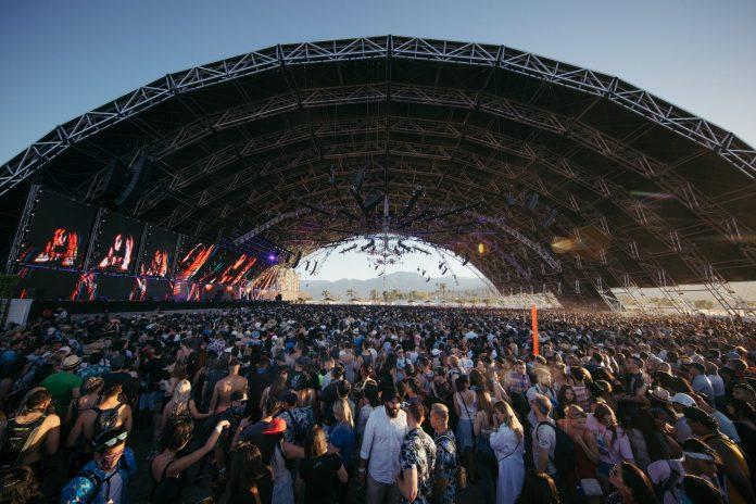 Coachella 2018 Sahara Tent