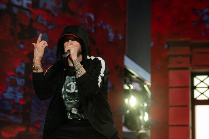 Eminem at Coachella 2018