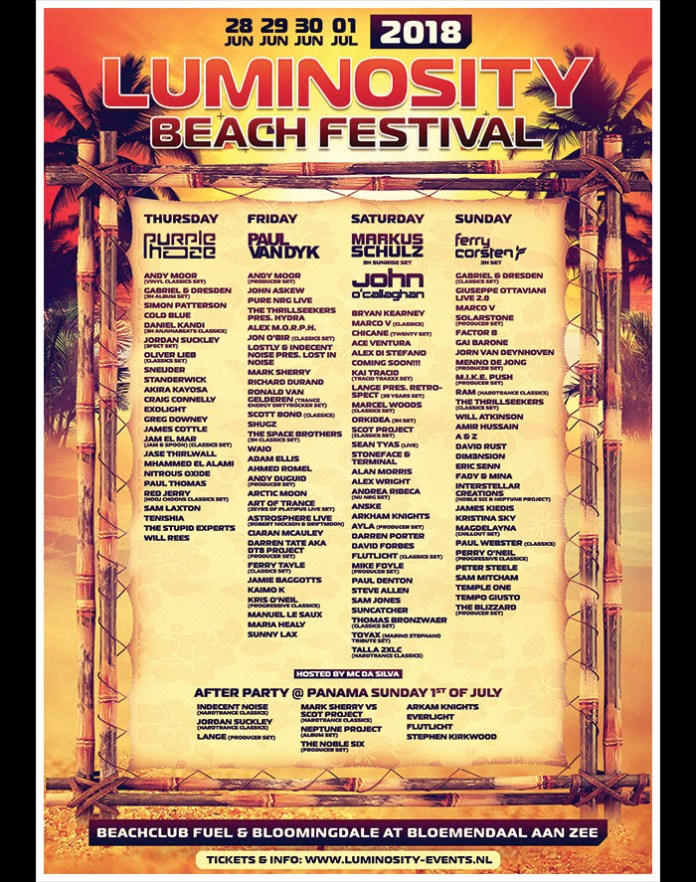 Luminosity-Beach-Festival-2018-Day-by-day