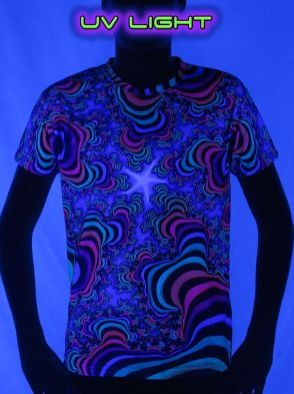 UV Light Top by Space Tribe
