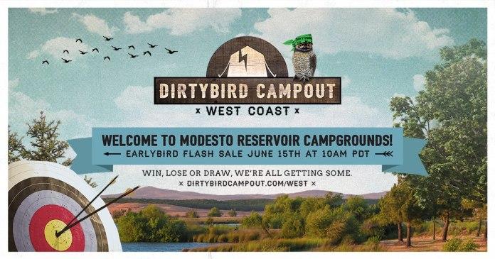 Dirtybird Campout West 2018 Banner