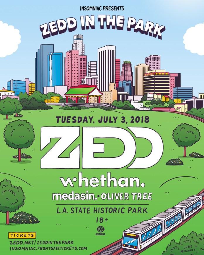 Zedd In The Park 2018