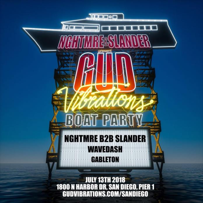 Gud Vibrations Boat Party San Diego
