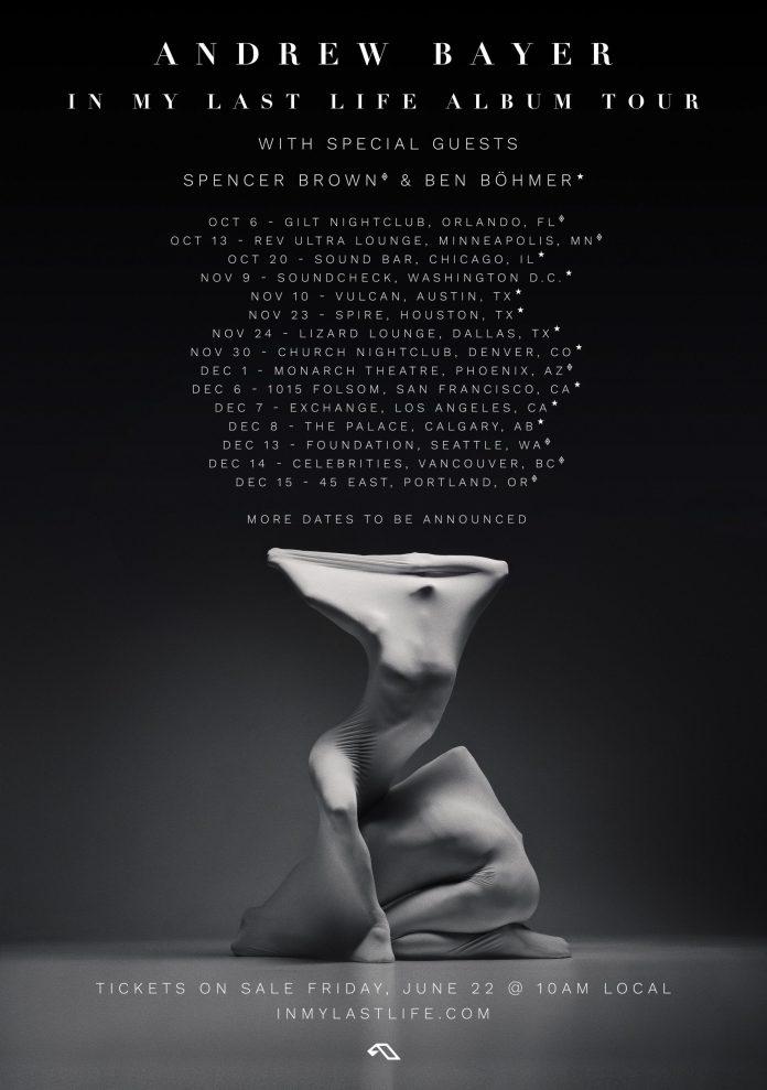 In My Last Life Album Tour - Fall 2018