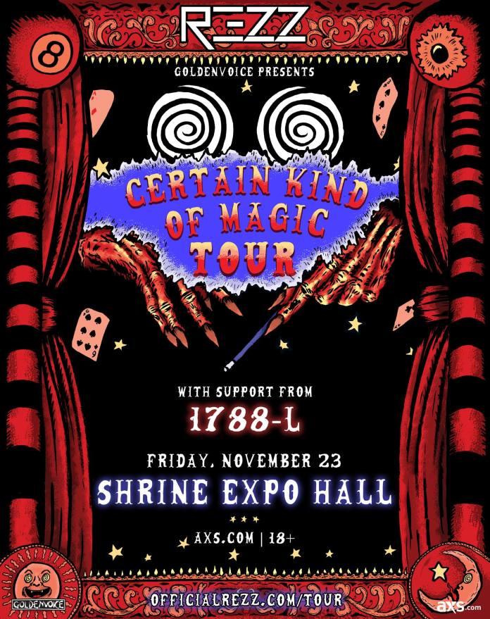 REZZ Certain Kind Of Magic Tour Shrine LA