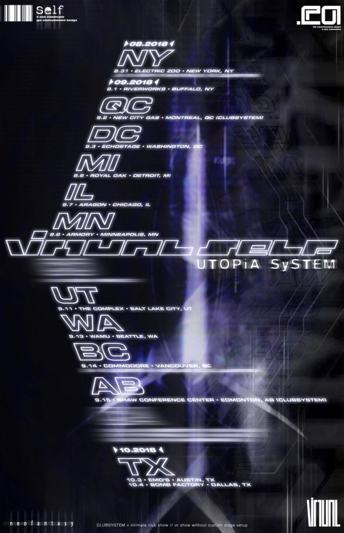 Virtual Self Utopia Tour 2018