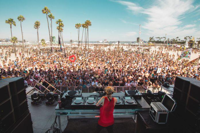 J. Worra at Sun Soaked 2018 Long Beach
