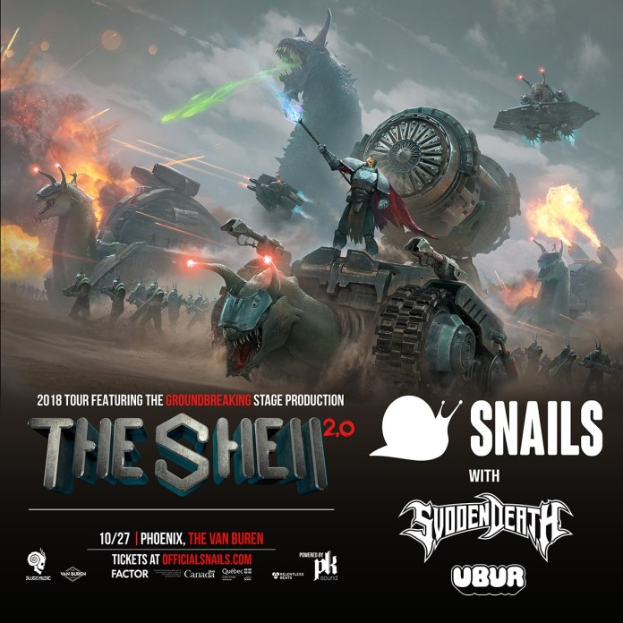 Snails The Shell Tour 2.0