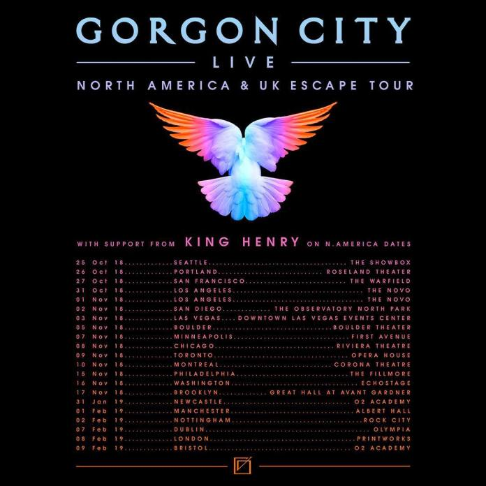 Gorgon City Escape Tour