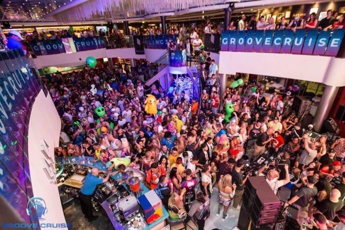 Groove Cruise Cabo 2018 Atrium