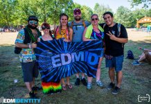 EDM Identity Team at Electric Forest 2018