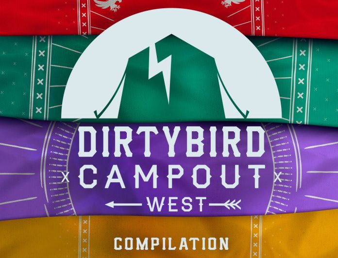 Dirtybird Campout West Compilation Cover Art