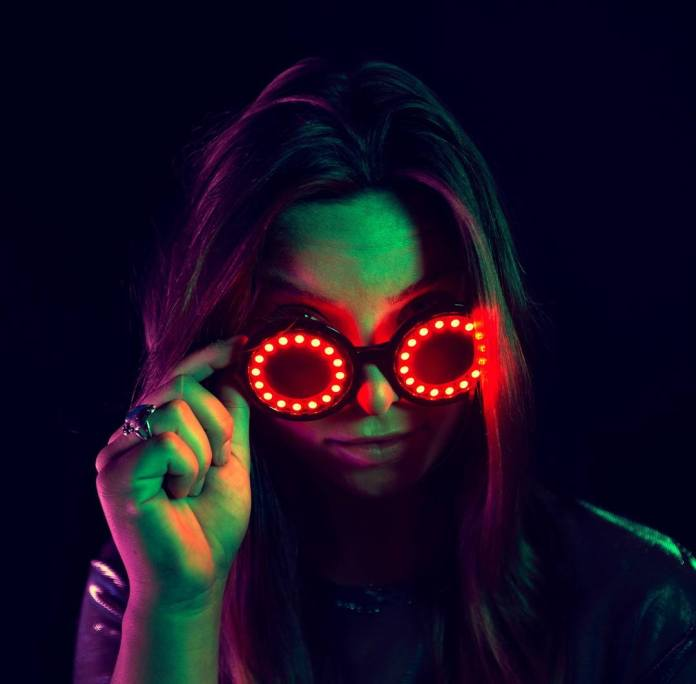 GloFX Pixel Pro Glasses