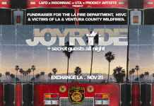 JOYRYDE & Friends benefit show