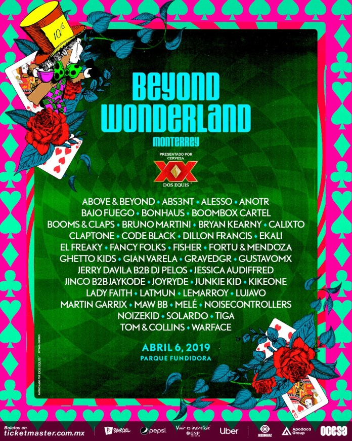 Beyond Wonderland Monterrey Releases Lineup For 2019