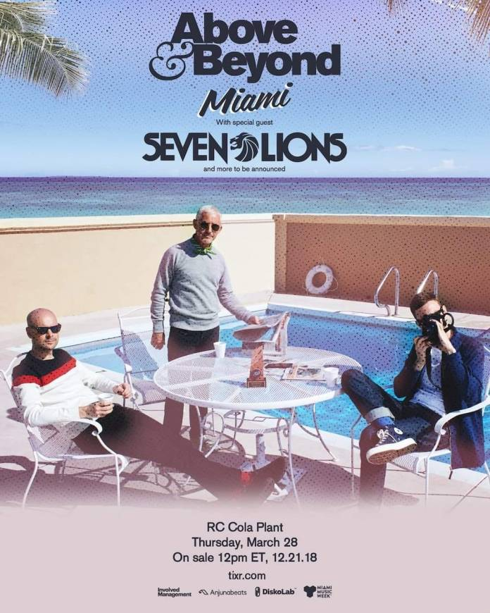 Above & Beyond Miami 2019 Announcement Flyer