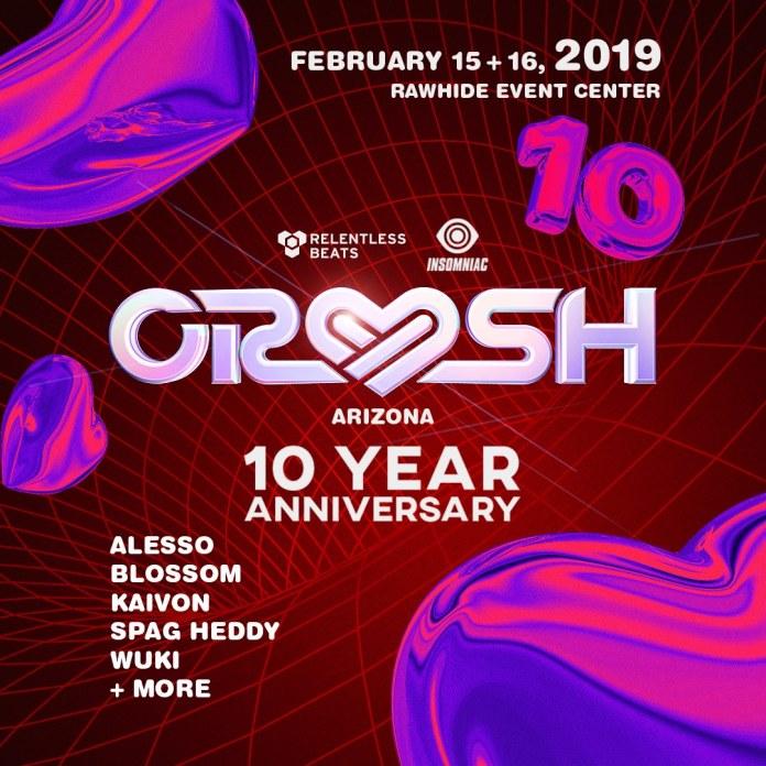 Crush Arizona 2019 Phase 1 Lineup