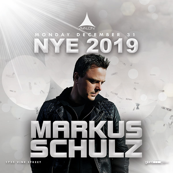 Markus Schulz NYE OTC Avalon Hollywood